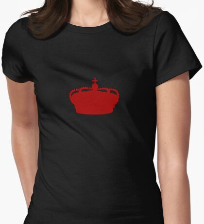 Red Crown Womens Fitted T-Shirt
