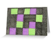 blocks-2012-01 Greeting Card