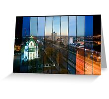 Brest: Night, Day and Than Night Again Greeting Card