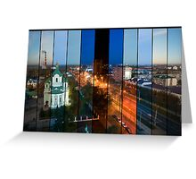 Brest: Day, Night and Than Day Again Greeting Card