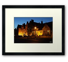 Lygon arms broadway Framed Print