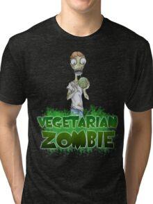 Vegetarian Zombie Tri-blend T-Shirt