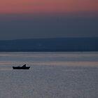 Late Dusk Over The Minsk Sea by Dmitry Shytsko