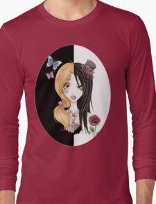 Yin Yang of Japanese Fashion Long Sleeve T-Shirt