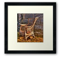 a great chair Framed Print