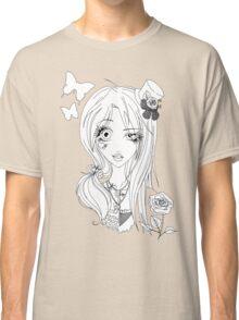 Yin Yang of Japanese Fashion (b/w) Classic T-Shirt