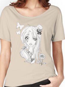 Yin Yang of Japanese Fashion (b/w) Women's Relaxed Fit T-Shirt