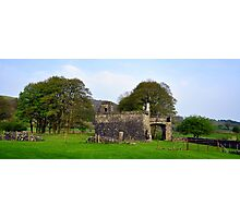 Out Building at fore abbey. Photographic Print