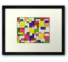 blocks-2012-03 Framed Print