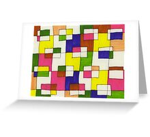 blocks-2012-03 Greeting Card