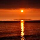 Last Sunset  by Karen  Betts