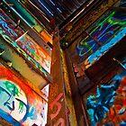 Graffito Makes Graffiti by Briar Richard