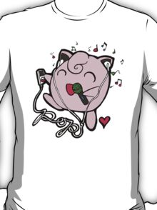 Jigglypuff Loves Pop Music! T-Shirt