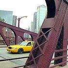 Chicago Taxi  by Alberto  DeJesus