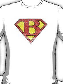 Vintage B Letter T-Shirt