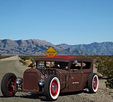 1928 Ford Sedan Rat Rod. by TeeMack