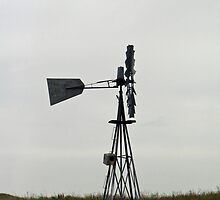 Sandhills Windmill by Jimilagro