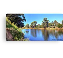 The Snowy River Canvas Print