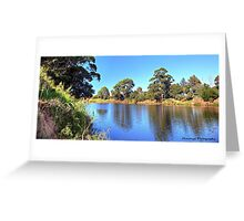 The Snowy River Greeting Card