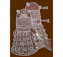 Doodle Daleks Photographic Print
