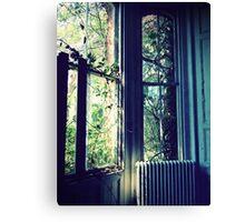 At the Window ~ Lillesden School Canvas Print