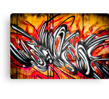 Lillesden Graffiti #2 Canvas Print