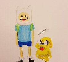 Jake and Finn by WRTISTIK by wrtistik86