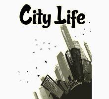City Life Mens V-Neck T-Shirt
