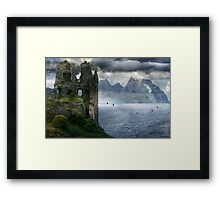 The Changing of his Memory. Framed Print