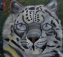Did you ever see a Snow Leopard BLINK by towncrier