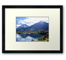 What a location! Framed Print