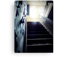 Blue ~ Lillesden School Canvas Print
