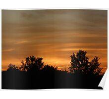 Painted Sky- South Carolina  Poster
