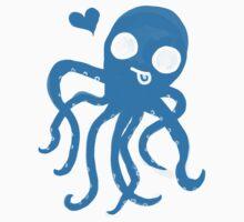 Silly  Octopus Blue by shandab3ar