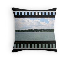 Niagara River (From Gazebo in Niawanda Park) Throw Pillow