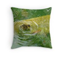 The Lonely Duckling- Florida Throw Pillow