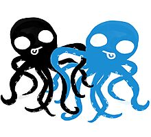 Octo Love Card ♥ Photographic Print