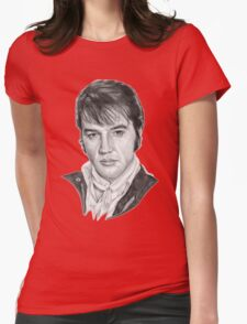Elvis Presley Womens Fitted T-Shirt