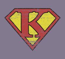 Vintage K Letter by adamcampen