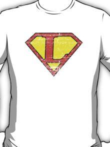 Vintage L Letter T-Shirt