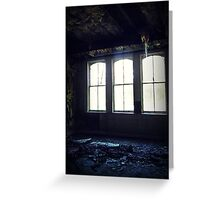Floor to Ceiling ~ Lillesden School Greeting Card