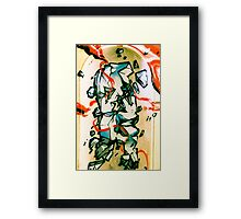 Lillesden Graffiti #5 Framed Print