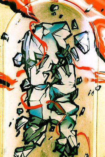 Lillesden Graffiti #5 by Richard Pitman