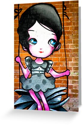 Lillesden Graffiti #6 by Richard Pitman