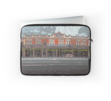 Vincent Chambers red Laptop Sleeve
