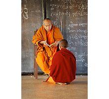 monastery, burma Photographic Print