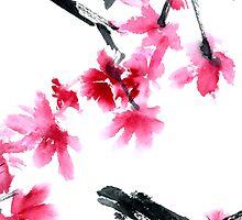 Sakura tree by Tarakanova