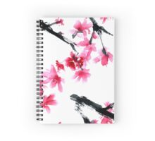 Sakura tree Spiral Notebook