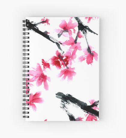 Sakura tree Spiral Notebook