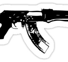kalashnikov Sticker